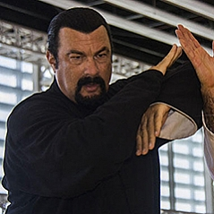 Steven Seagal in Baku Crystal Hall